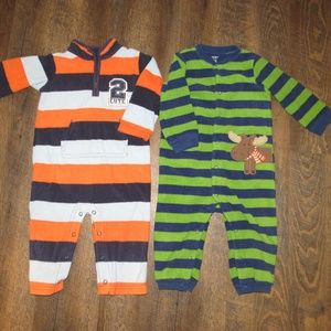Carter's pajamas boy size 18 months